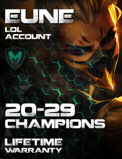 LoL EUNE Account 20-29 Champs Level 30+