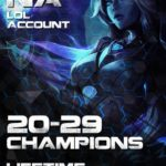 LoL NA Account 20-29 Champs Level 30+