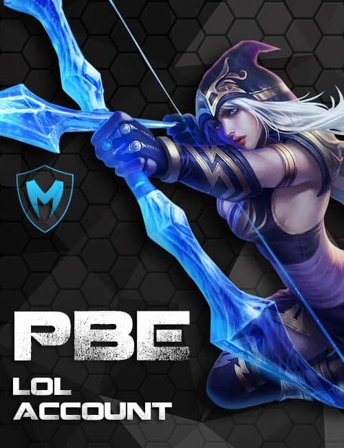 LoL PBE Unverified Account