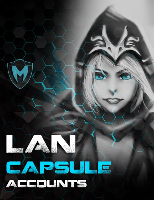 LOL LAN Capsule Accounts