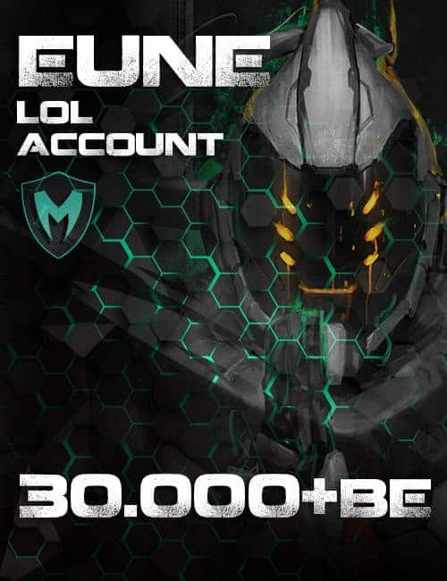 LoL EUNE Account Level 30+ 30k+ BE