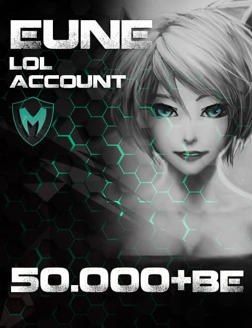LoL EUNE Account Level 30+ 50k+ BE