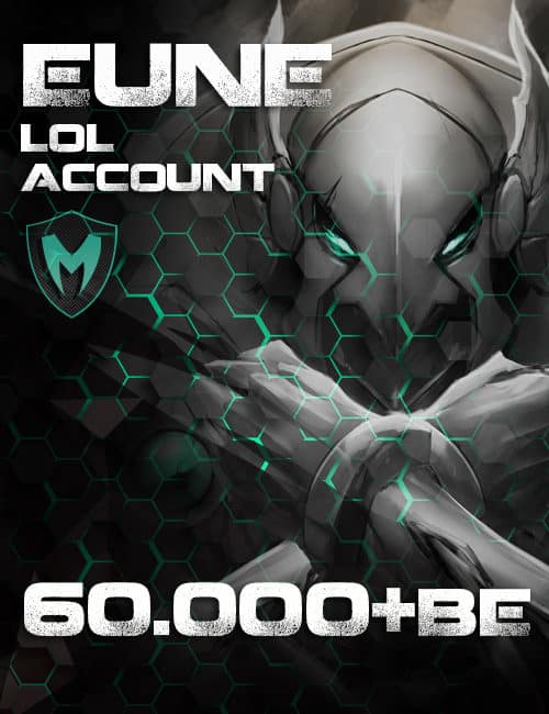 LoL EUNE Account Level 30+ 60k+ BE