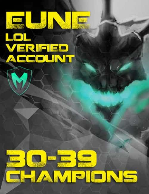 Megasmurfs Buy Cheap Verified Inactive Europe Nordic & East LoL Account