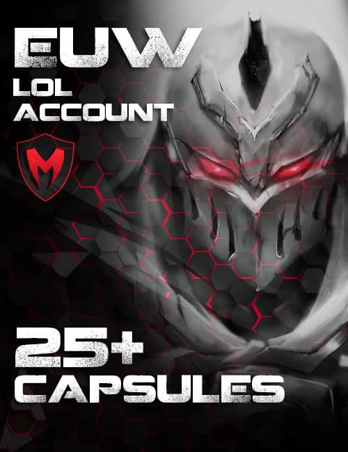 LoL EUW Account Level 30 – 25+ Capsules