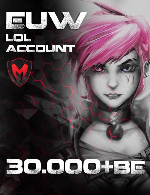 LoL LAN Account Level 40+ 30k+ BE