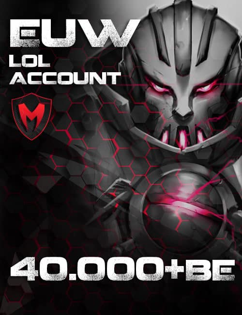 LoL LAN Account Level 40+ 50k+ BE