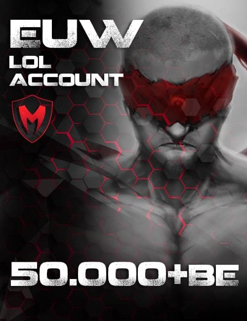 LoL LAN Account Level 30+ 50k+ BE