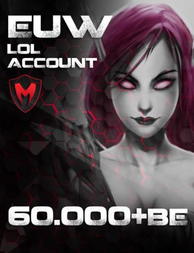 LoL LAN Account Level 30+ 60k+ BE