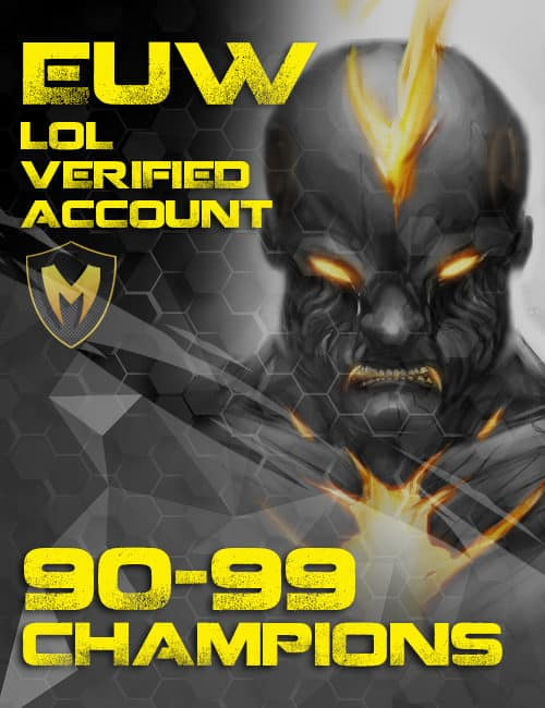Megasmurfs Buy Cheap Verified Inactive Europe West LoL Account