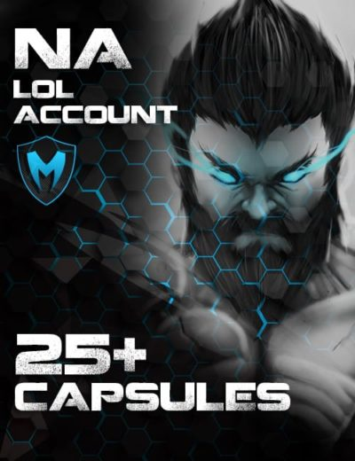 LoL NA Account Level 30+ 25+ Capsules
